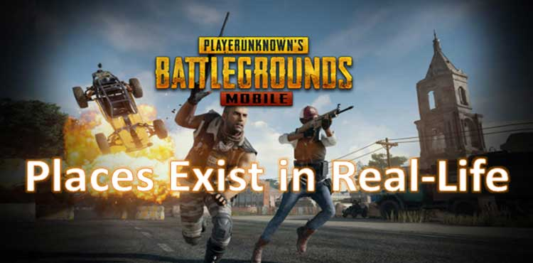 7 real life places in pubg mobile