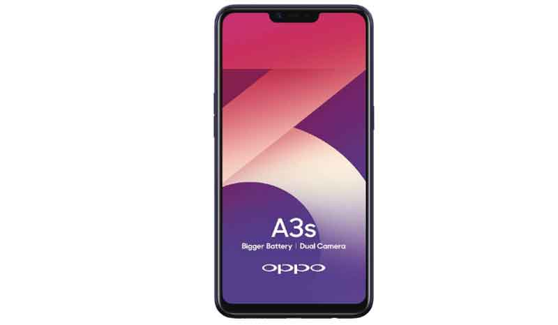 Oppo A3s budget smartphone for pubg mobile