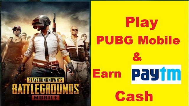 earn paytm from pubg
