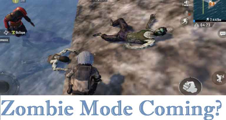 Is PUBG Mobile 10.5.0 coming with the Zombie Mode?