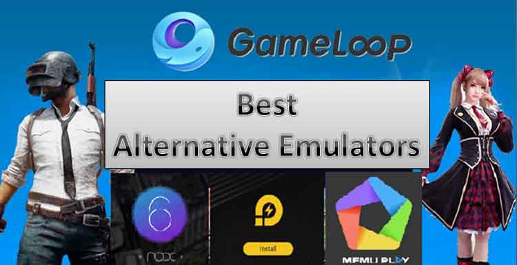 best gameloop(tencent gaming buddy) alternative emulators for lag free pubg mobile