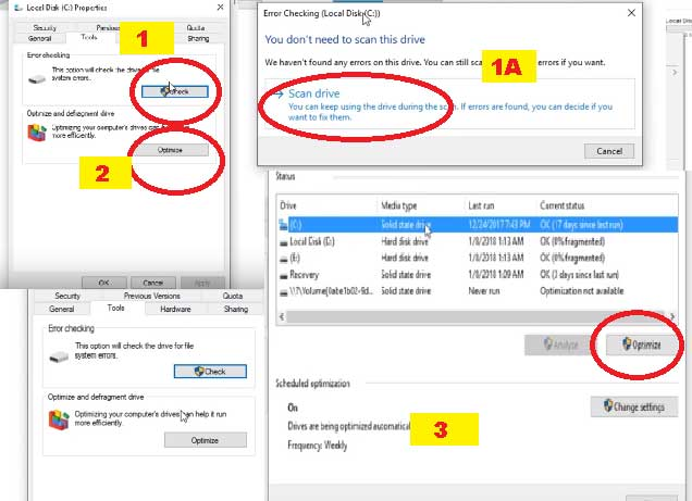 Optimize C drive to boost your PC performance