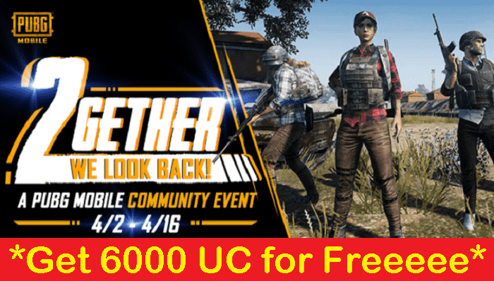 PUBG Mobile Community Contest to give 6000 UC
