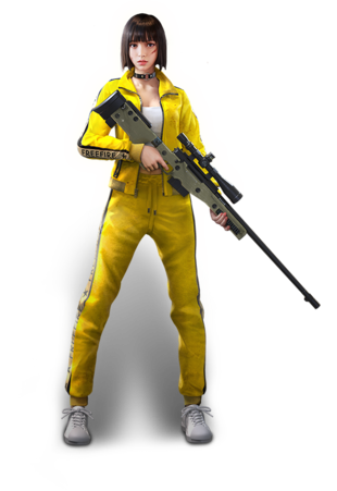 kelly free fire character