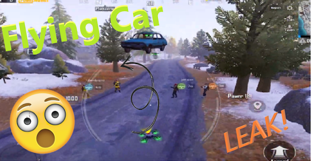 use drone to fly a car pubg