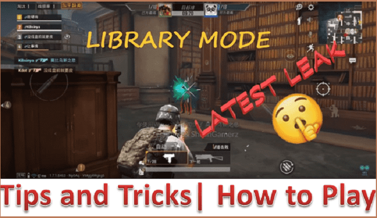 library mode pubg mobile