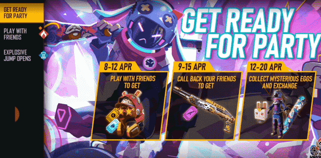 Free Fire Wonderland Event Details