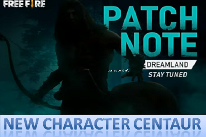 Free Fire New Character Centaur First Look
