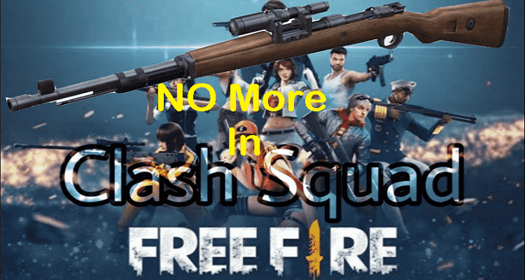 kar98k removed from free fire