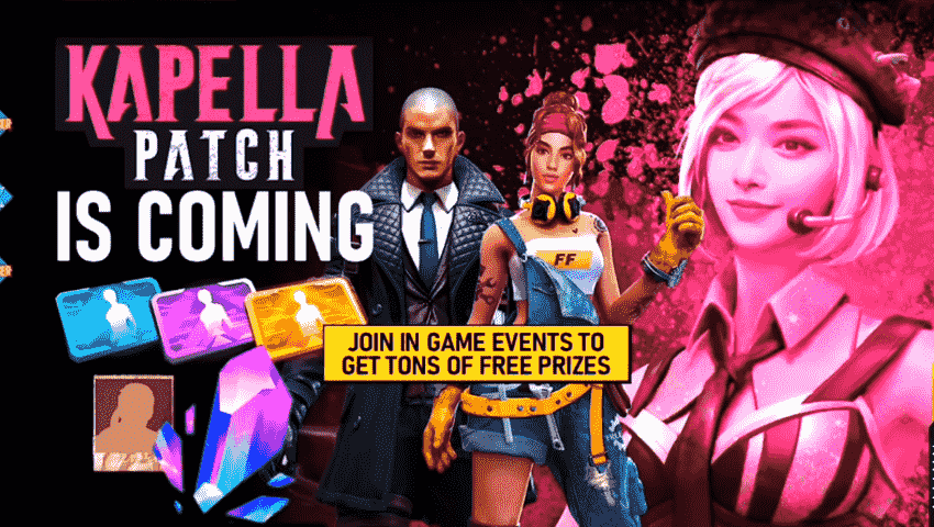 Kapella Patch event features