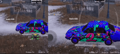 PUBG Mobile: Use Drones to Fly Cars in Cold Front Survival Mode 1