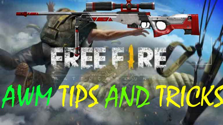best tips on how to use awm in free fire