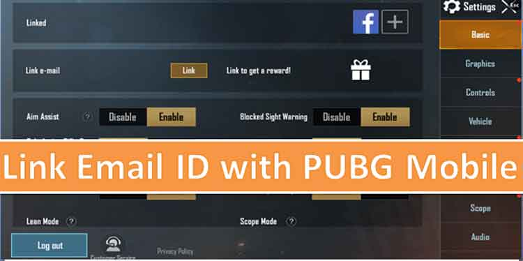 How to Link email ID with PUBG Mobile