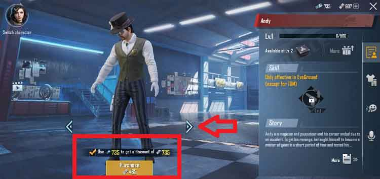 PUBG Mobile: How to Unlock Andy Character for Free in 2020 1