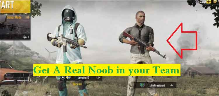 Get Noob Lobby, Low Tier Players, and Bots in PUBG Mobile​