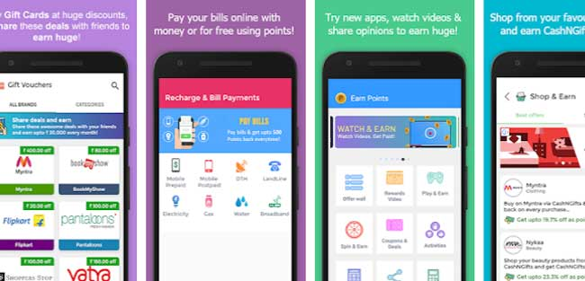 get free bc with cashngift app