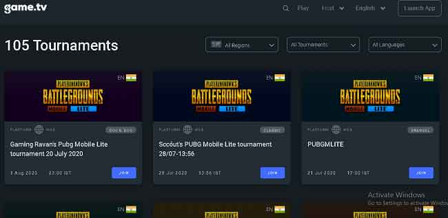 play pubg mobile lite tournament to win bc for free