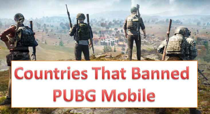 in which countries pubg mobile is banned and why?