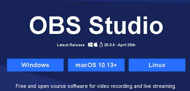 OBS studio is a very good software for streaming games