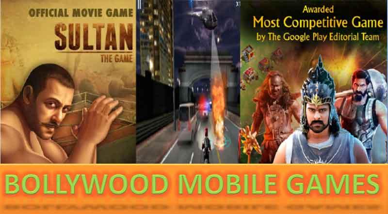 top 6 Android mobile games based on bollywood