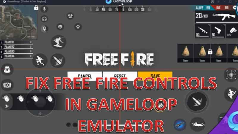 How to Fix Free Fire Controls in Gameloop