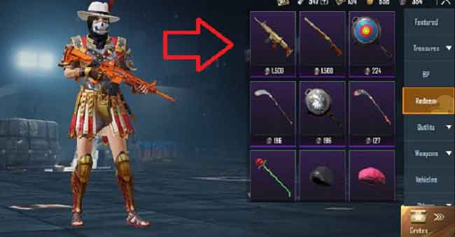 Silver Fragment trick for free m416 skin in season 15
