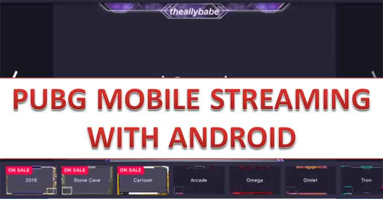 PUBG Mobile Streaming with Android and Omlet Arcade| Full Guide