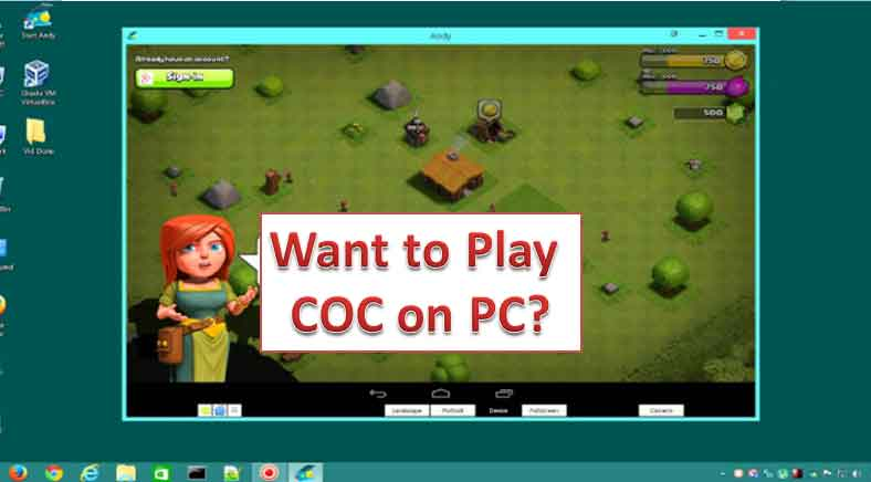 How to play COC on a windows Computer full guide