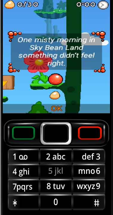 Install and Play Bounce Tales Nokia Redball game
