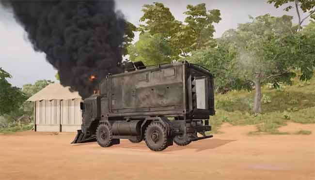 how to stop, destroy and get loots from truck