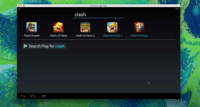 Download and install COC on Bluestacks Emulator