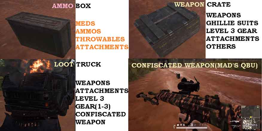 PUBG Loot Truck Facts and Tips 1