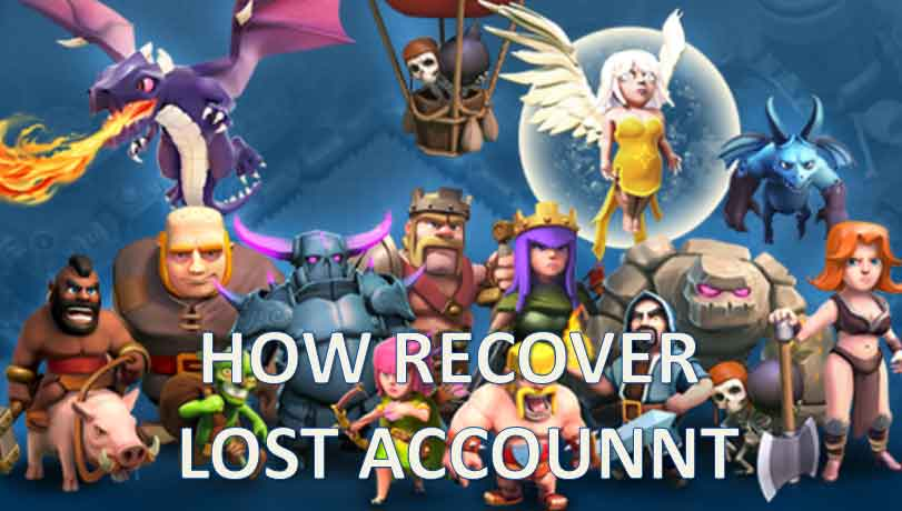 Full guide to recover lost coc account