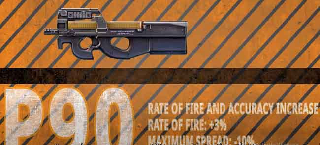 p90 gun in booyah day event free fire