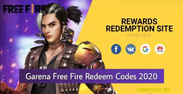 get all latest redeem codes for free fire