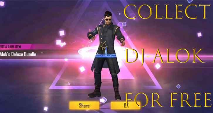 how to get DJ Alok character for free