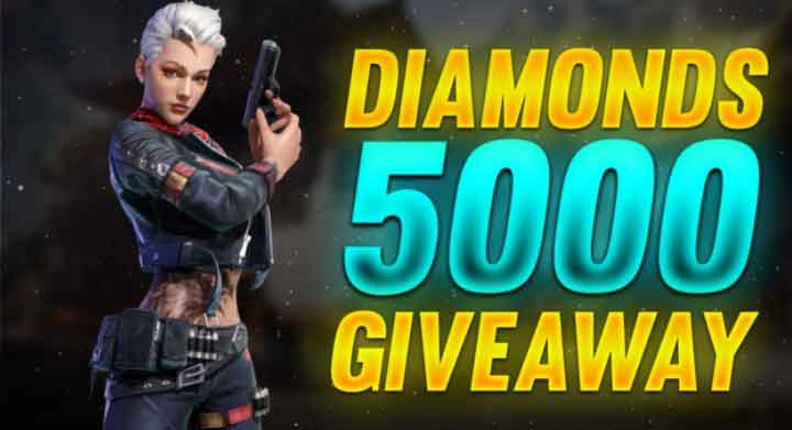 get free 100 diamonds from youtube giveaway