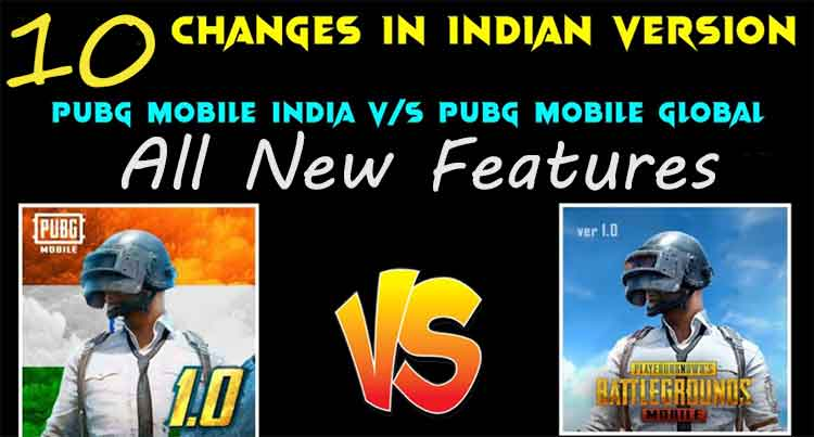new changes in upcoming pubg mobile india