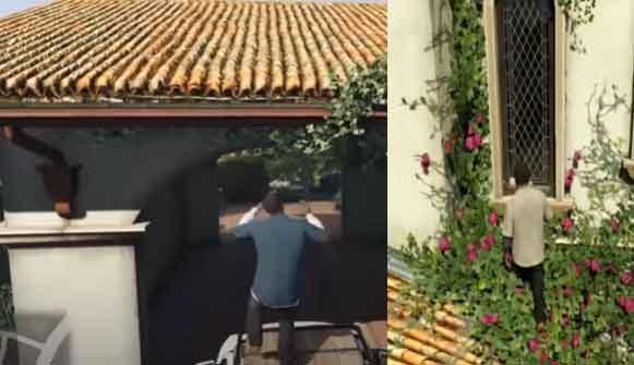 how to enter michael's house in GTA V