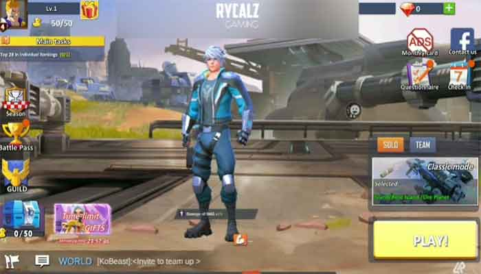 battlefield royale the one battle royale games online