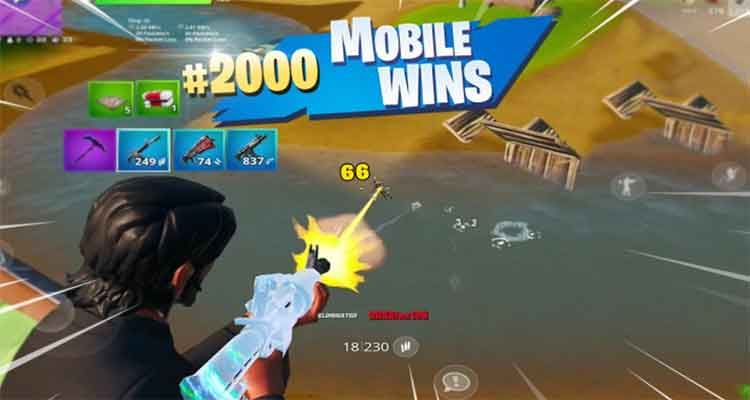Fortnite mobile battle royale game like pubg