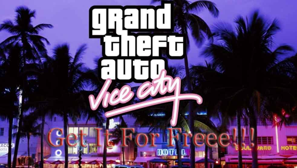 how to download GTA Vice City for free