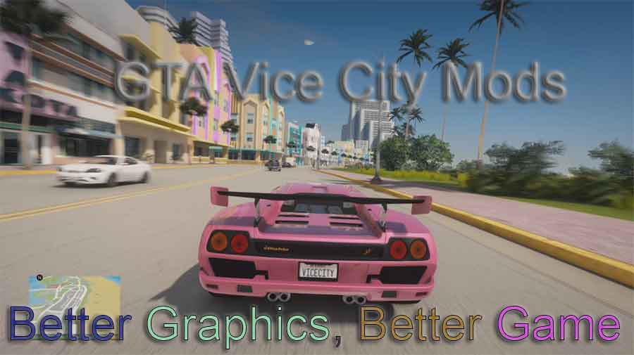gta vice city ultra enb graphics mod for low end pc