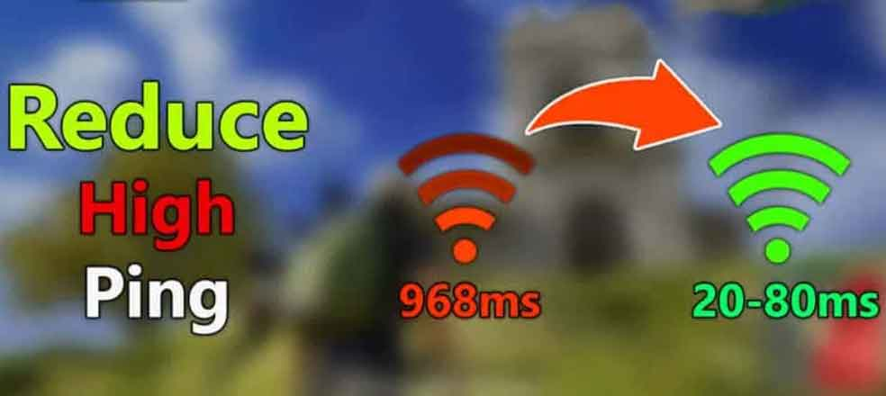 reduce your pubg mobile high ping problem