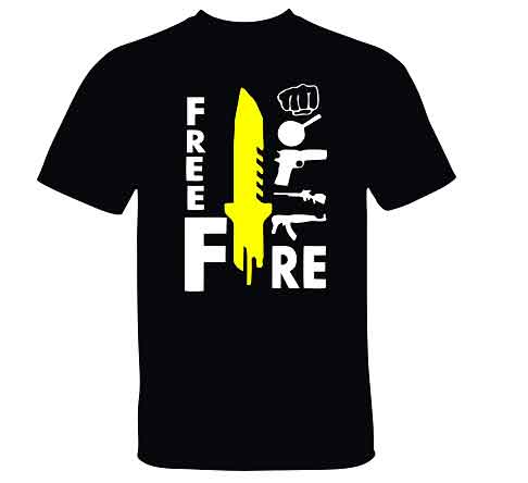 Best Free Fire T Shirts in 2021| Honest Review 1