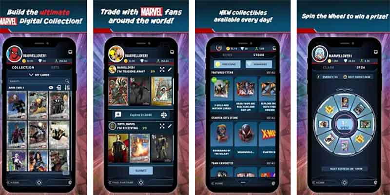Marvel collect a cool card game for android