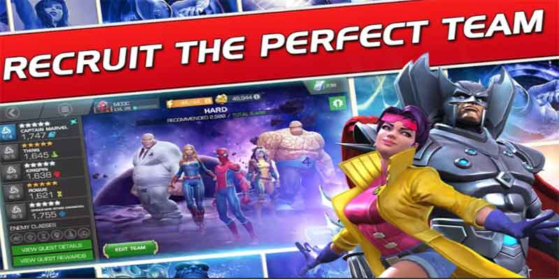 Best marvel fighting game for android