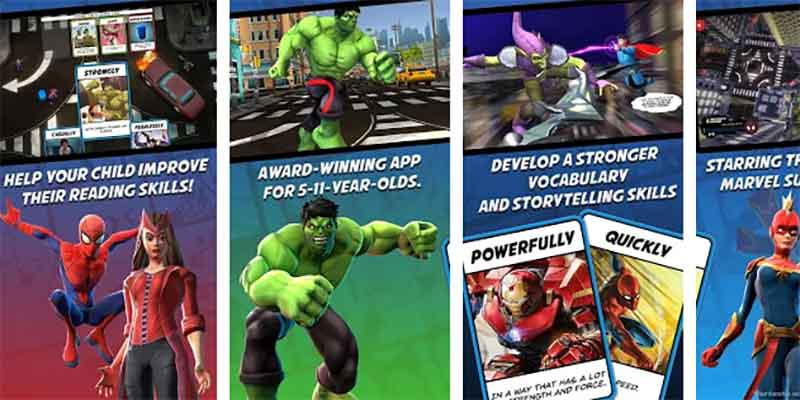 Marvel Android game a Hero tale
