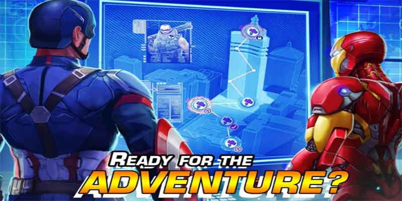 Marvel Hero talee game for android