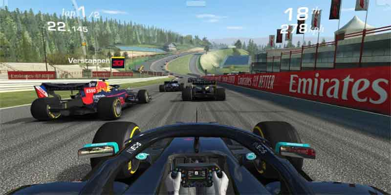 real racing game under 50mb for android